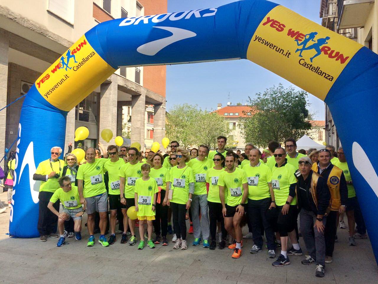 Lions Day partenza Mini Maratona Sempionenews
