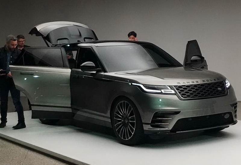 anteprima della nuova range rover velar sempione news. Black Bedroom Furniture Sets. Home Design Ideas