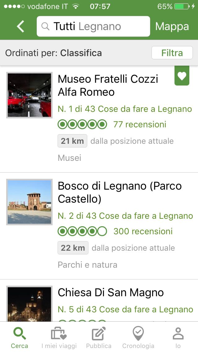 Trip advisor Museo cozzi