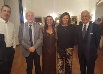 Massironi, Galeone, Gerboles con Assessore e Silvia Priori