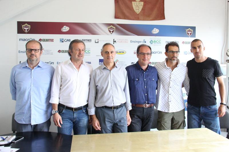 presentazione staff tecnico Bustese Milano City Ac 14