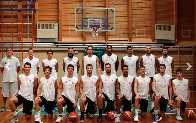 Legnano Basket in ritiro 2017