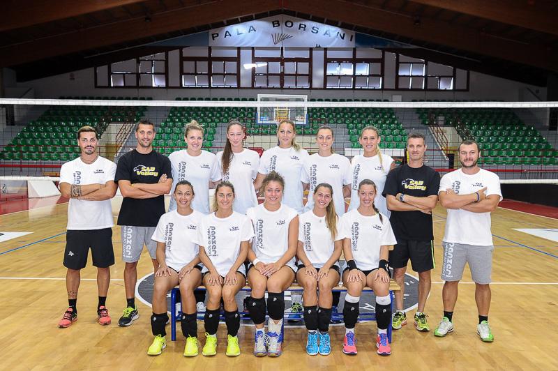 SAB Volley 2017-2018 raduno