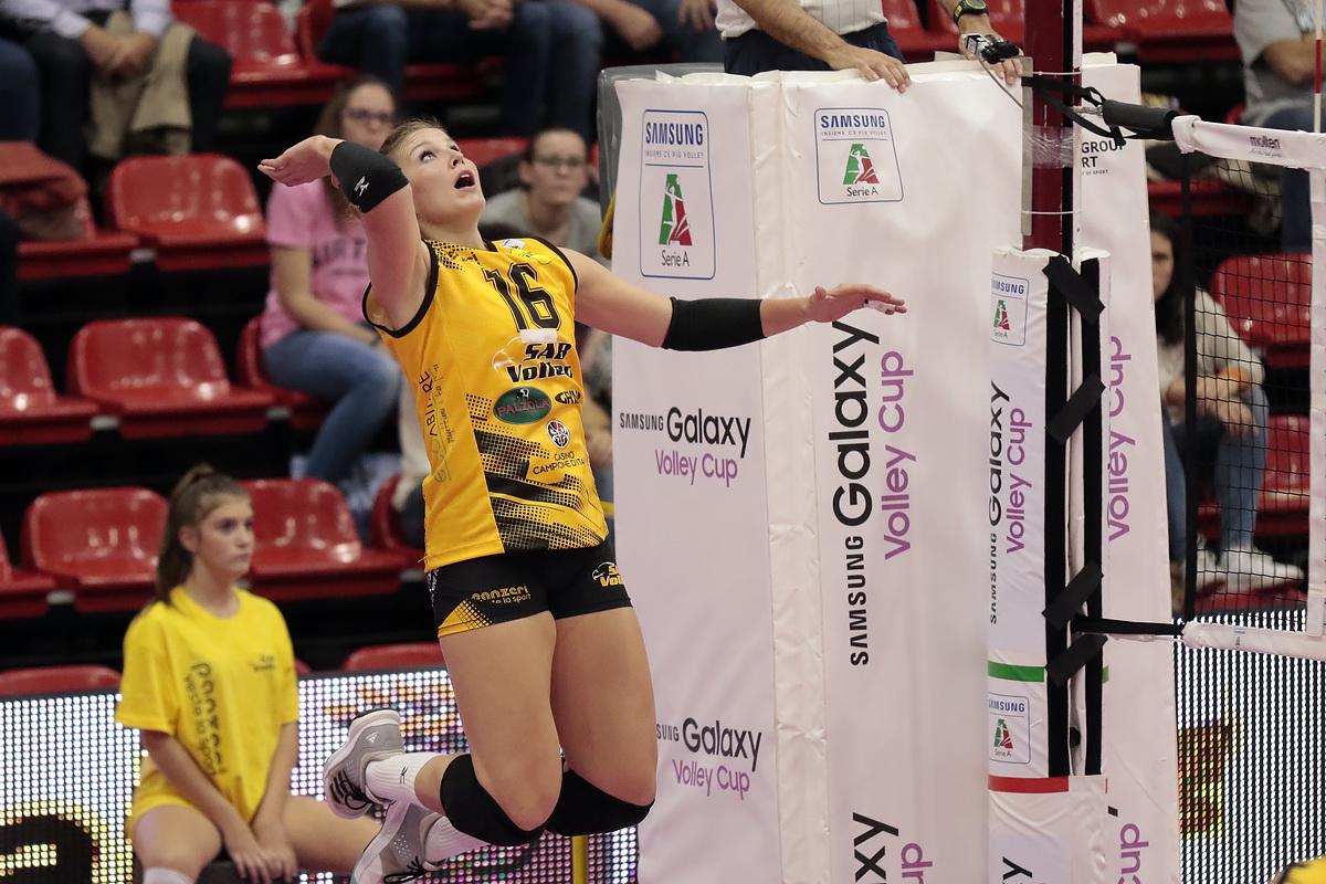Sab Volley Legnano - Foppapedretti Bergamo 3 a 0 22 - Sempione News