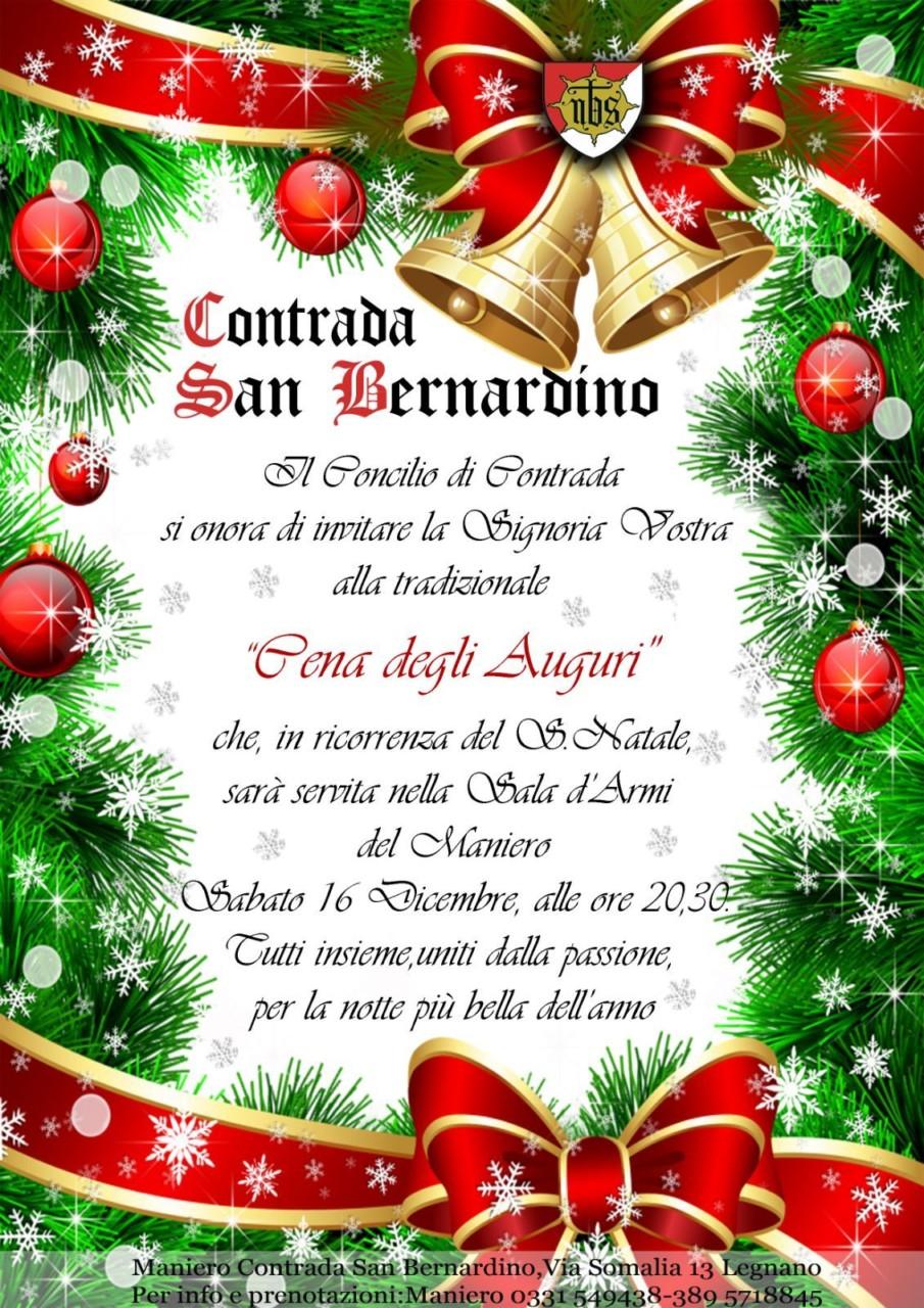 Molto Cena d'auguri a San Bernardino   Sempione News BP14