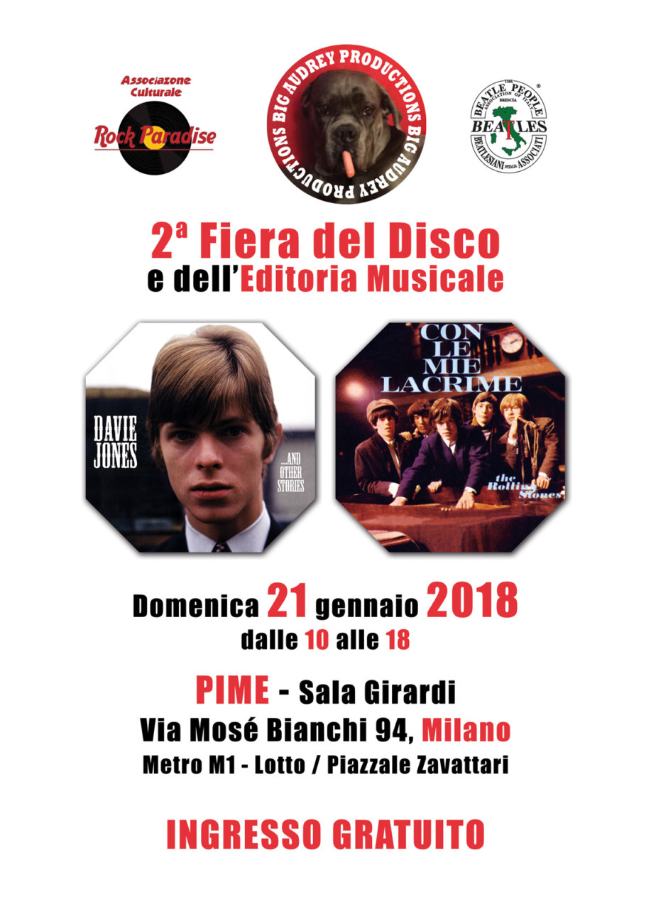 Seconda fiera del disco a milano sempione news for Disco in milano