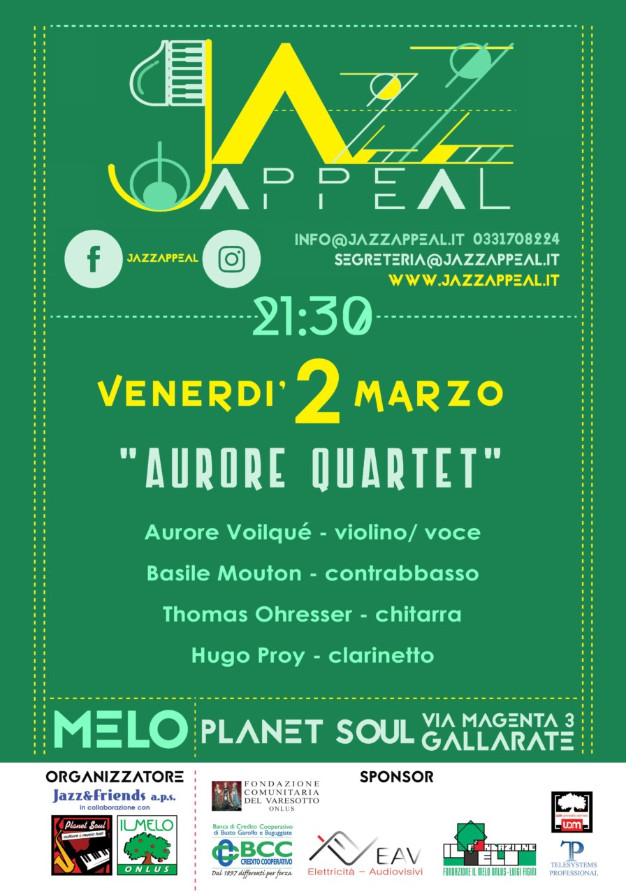 Jazz appeal marzo