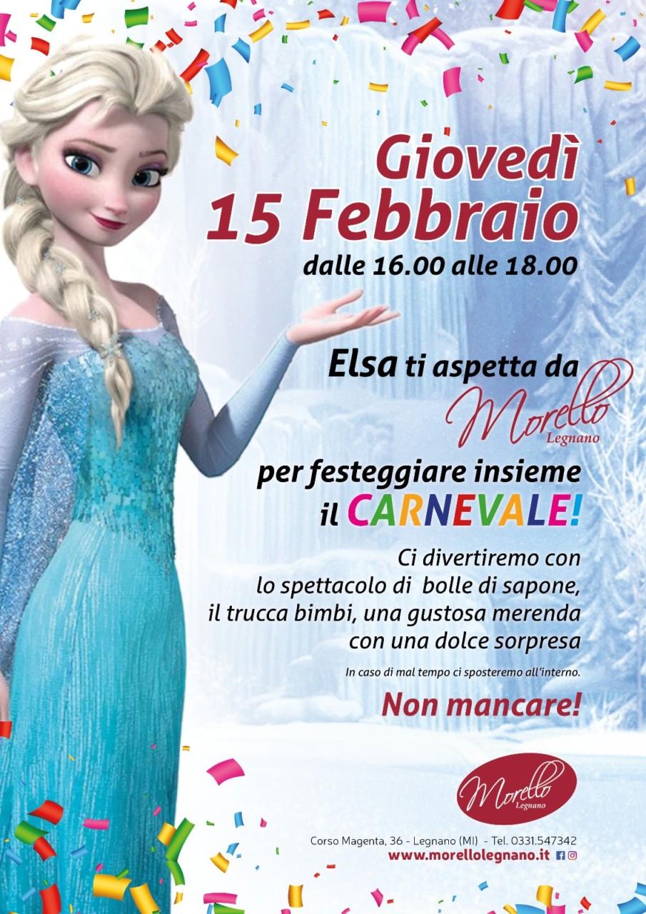 Locandina evento Elsa da Morello