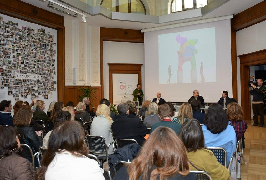 Robertaebasta e carlo moretti presentano gaetano pesce - Scuola carlo porta milano ...
