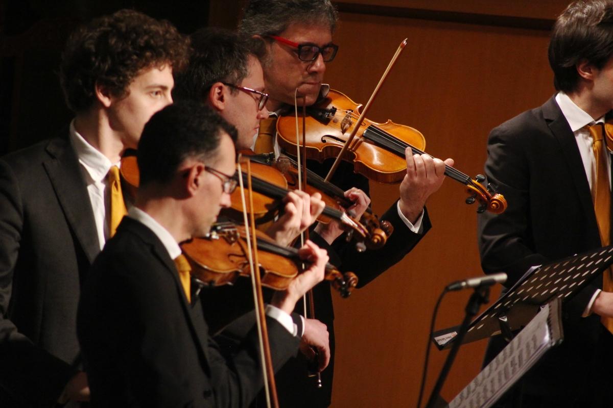 L 39 estro armonico chiude con successo bach the for Compositore tedesco della musica da tavola