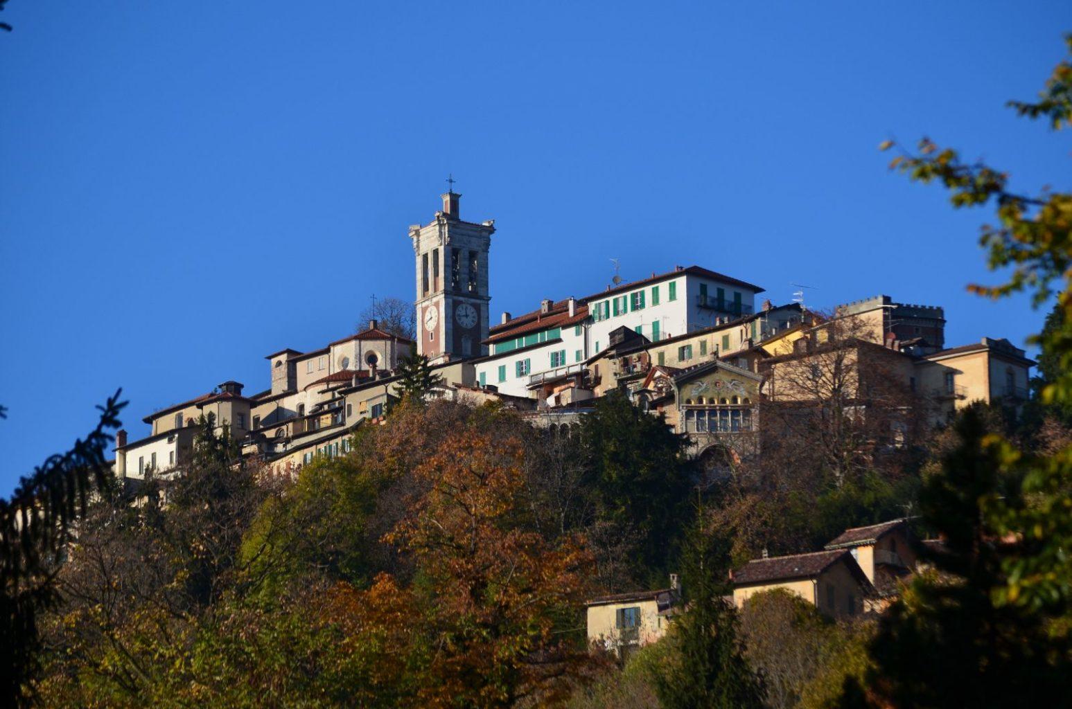 Vista su Sacro Monte