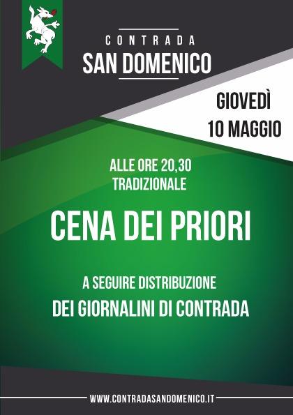 Cena dei Priori - San Domenico - 10 5 18 - Legnano