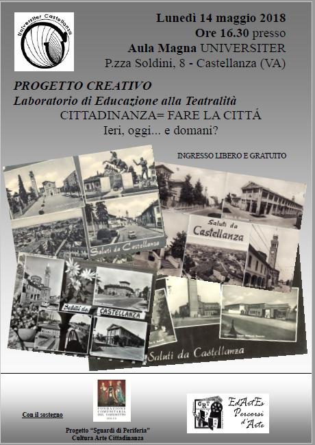 Locandina laboratorio Castellanza