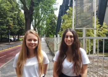 Francesca e Federica liceo Galileo Galilei