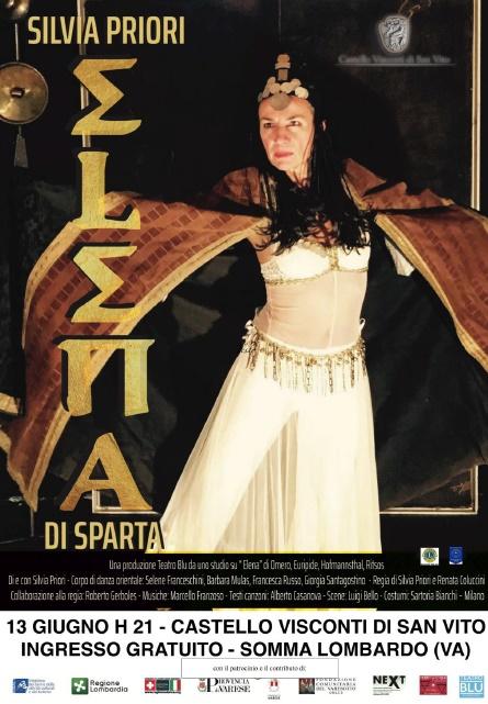 Silvia Priori Elena di Sparta - 13 Giugno ore 21 - Somma