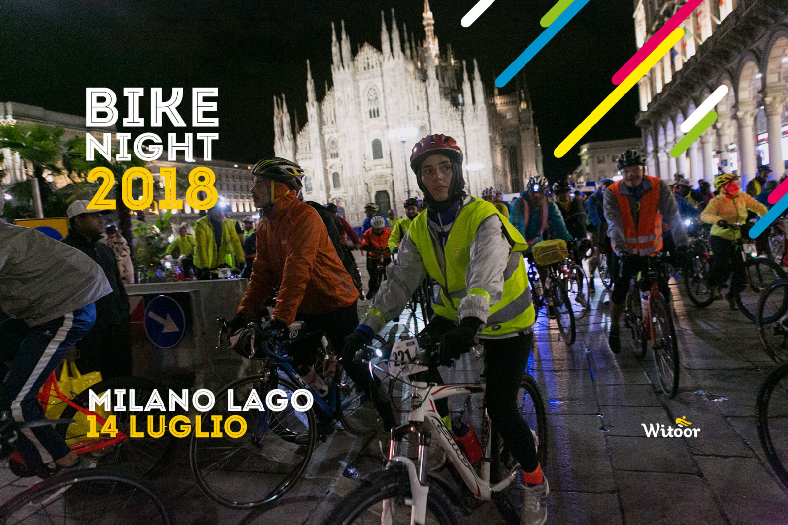 bike night milano arona