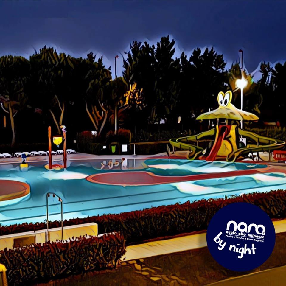 In piscina al sabato sera da nam cerro maggiore - Piscina di legnano ...