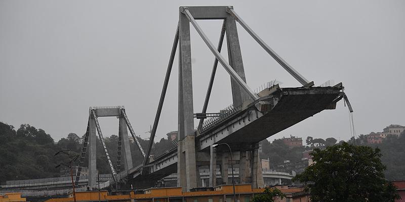 Ponte Morandi Genova (ANSA/LUCA ZENNARO)