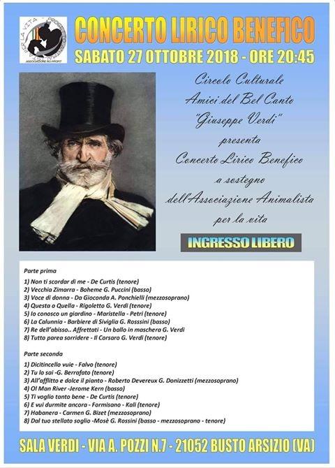 Concerto Benefico - 27 10 18