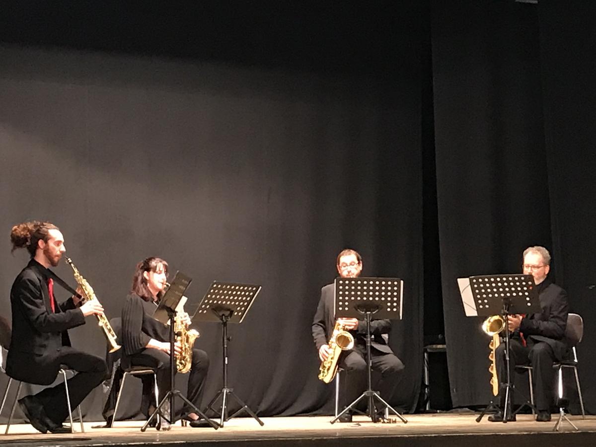 Sax ensemble Teatro del Popolo 17