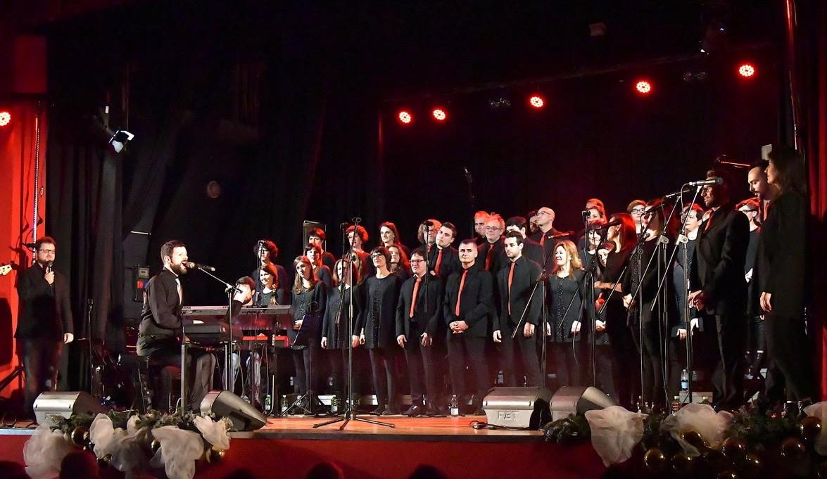 rejoice gospel choir natale 2018 f.canacci