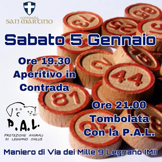 Tombolata San Martino 5 1 19