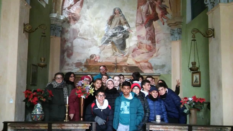 Visita guidata scuole a Immacolata al Castellazzo