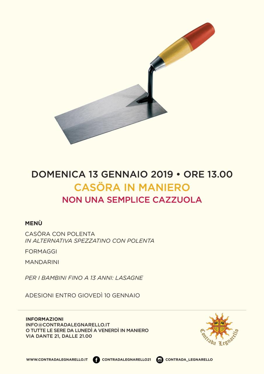 Legnarello-Pranzo in Maniero_locandina