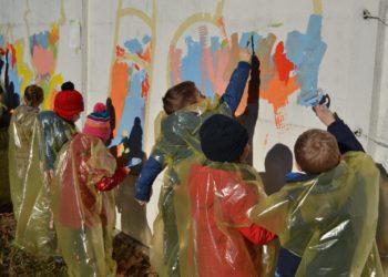 murales gesù bambino