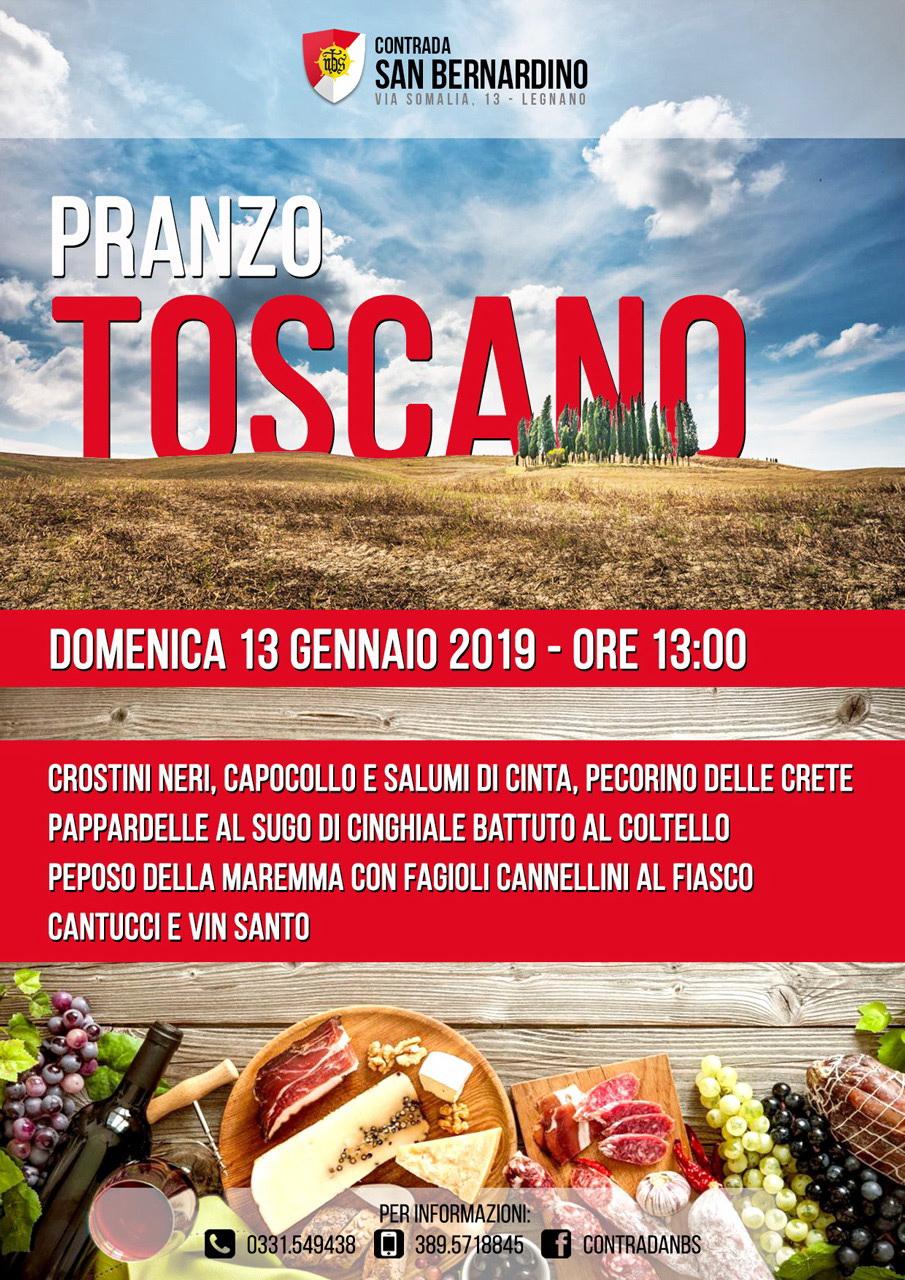 NBS- Locandina pranzo Toscano-13 gennaio 2019