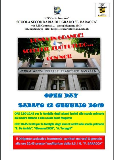 open day scuole magenta robecco