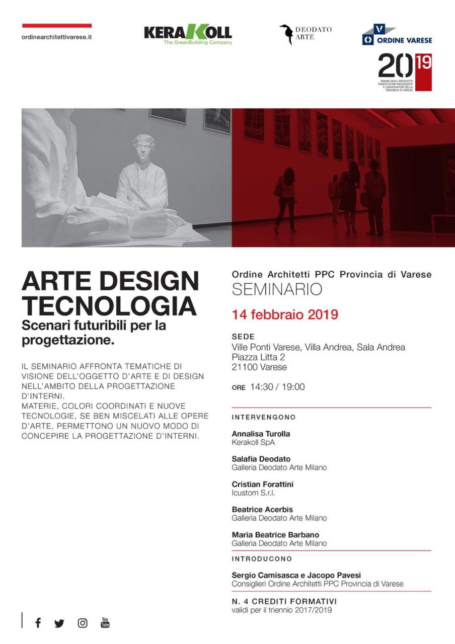 arte design e tecnologia ville ponti