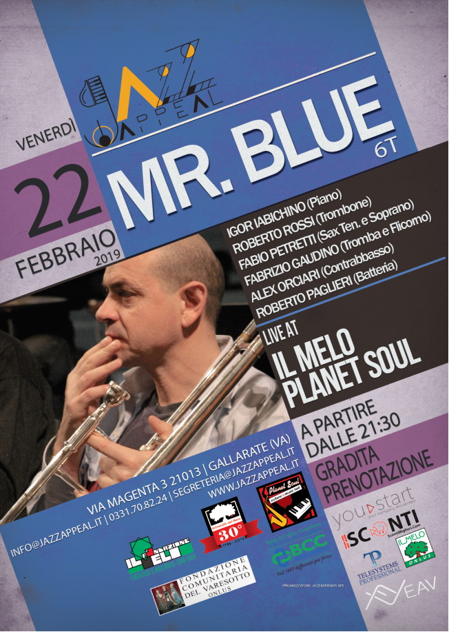 mr blue gallarate
