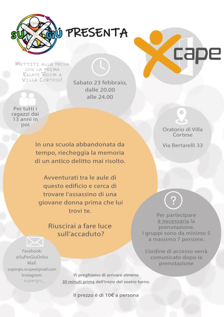XCAPE -Escape Room Villa Cortese
