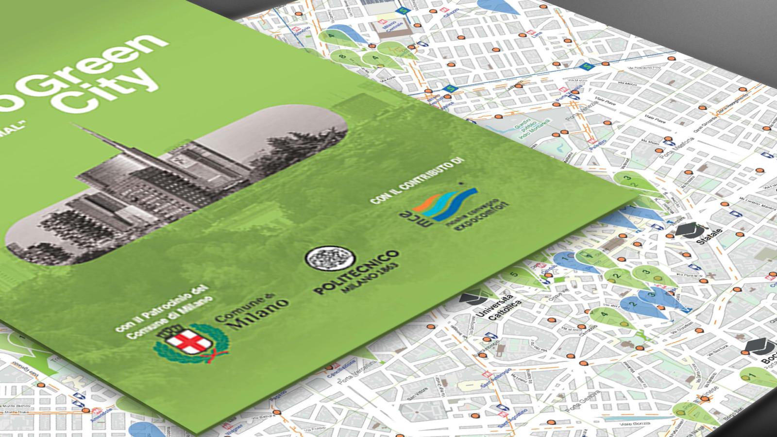Mappa Milano Green