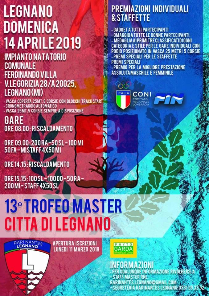 13esimo trofeo master città di Legnano