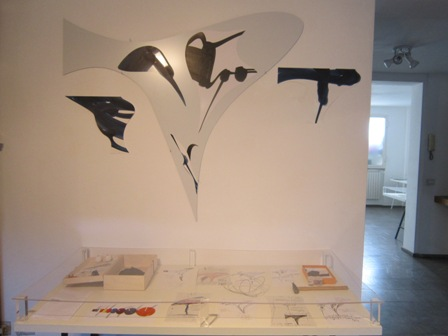 Genesi Studio Di Quattro Artisti Ricreato In Galleria Del