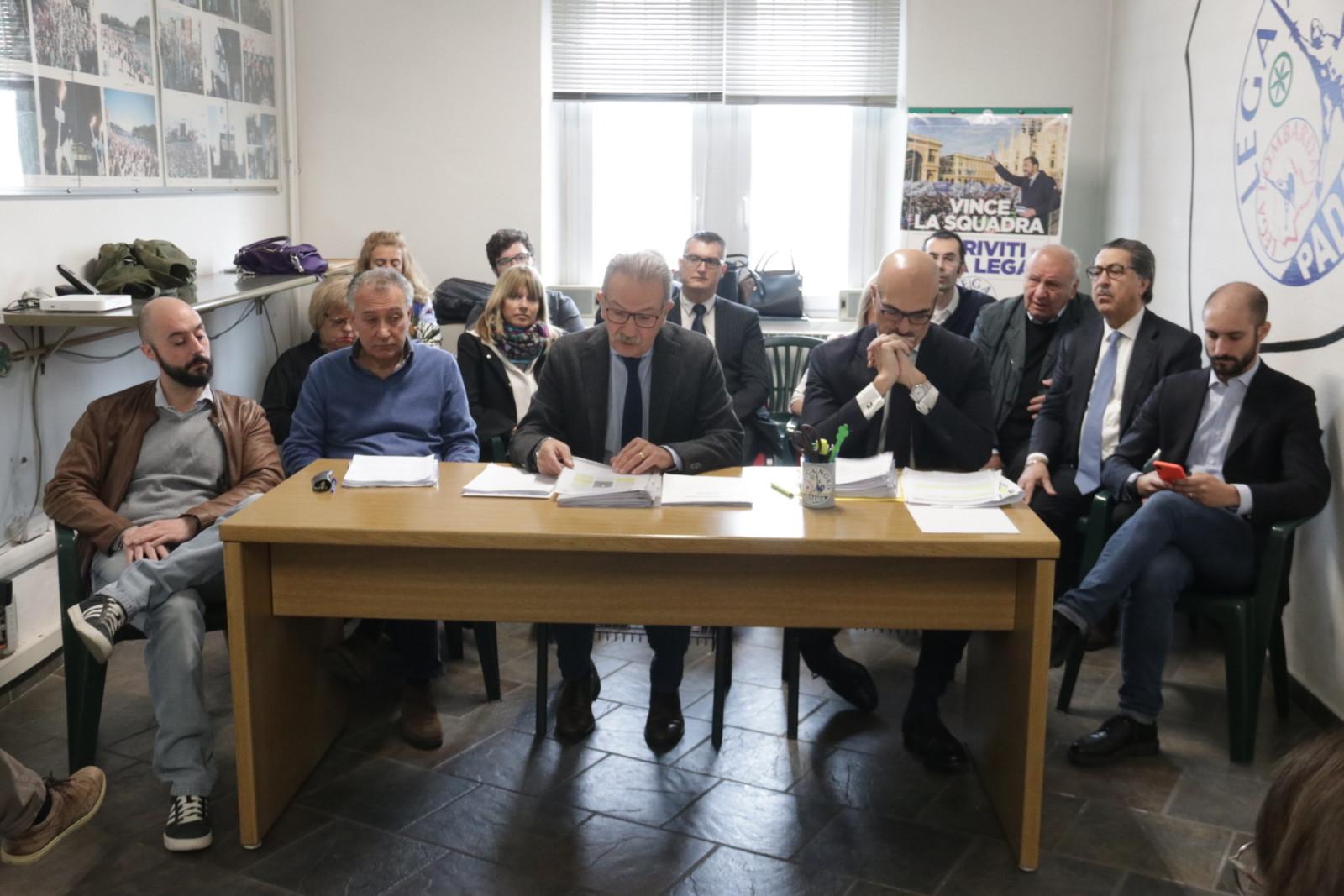 legnano sindaco, assessori consiglieri - conferenza stampa lega nord-9131576022777801538-IMG-5404