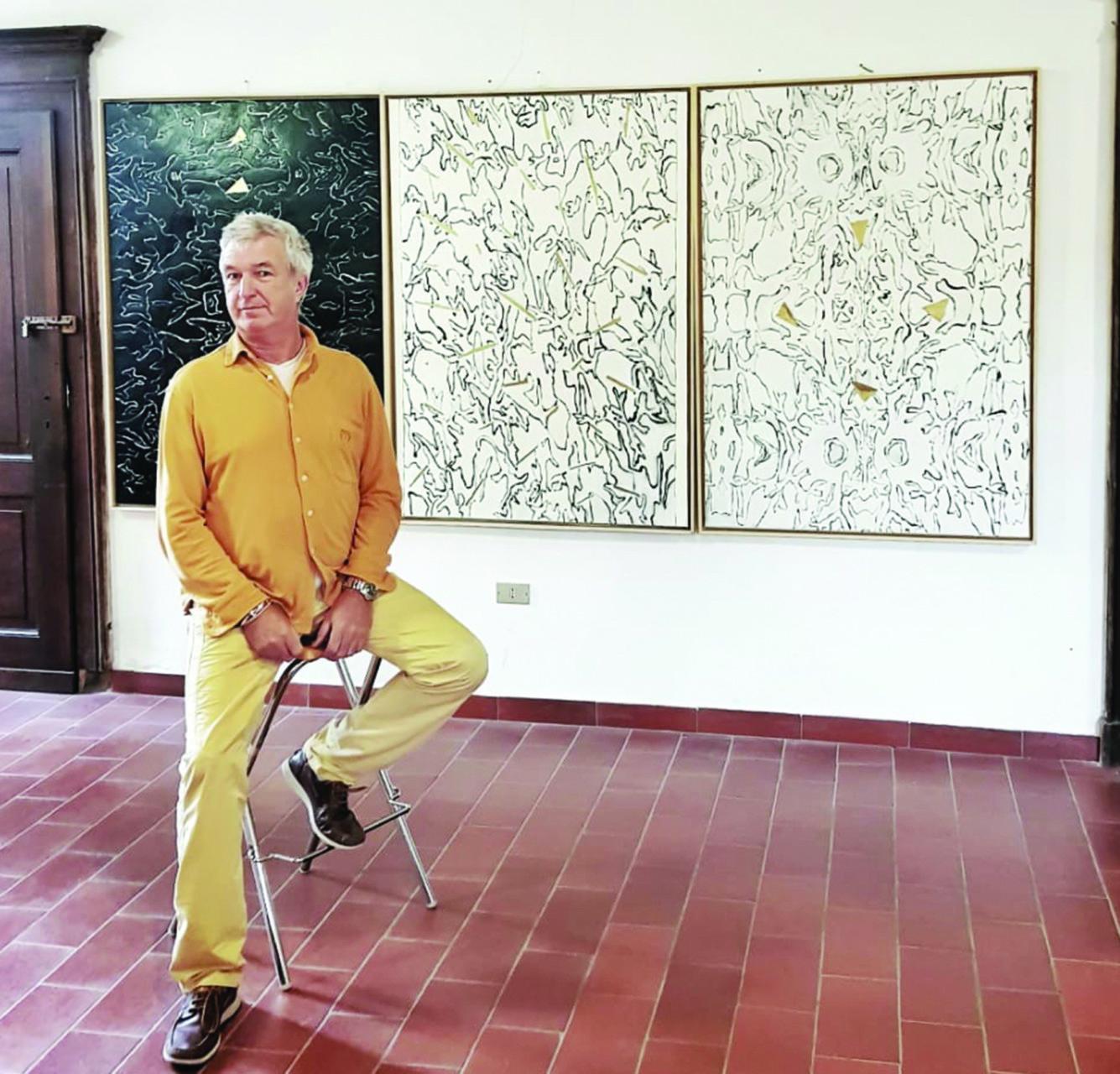 2019 Giorgio Piccaia nel suo atelier foto Ahmed Barakat 1