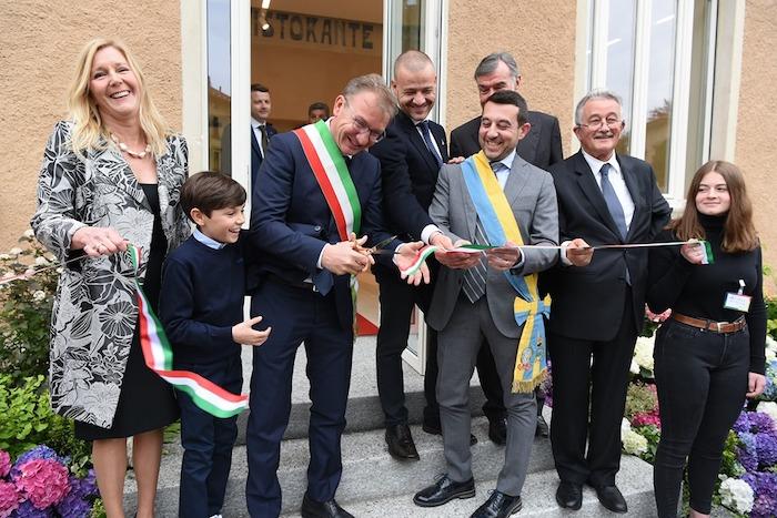 Foto inaugurazione palazzo Verbania Luino di Luino Notizie