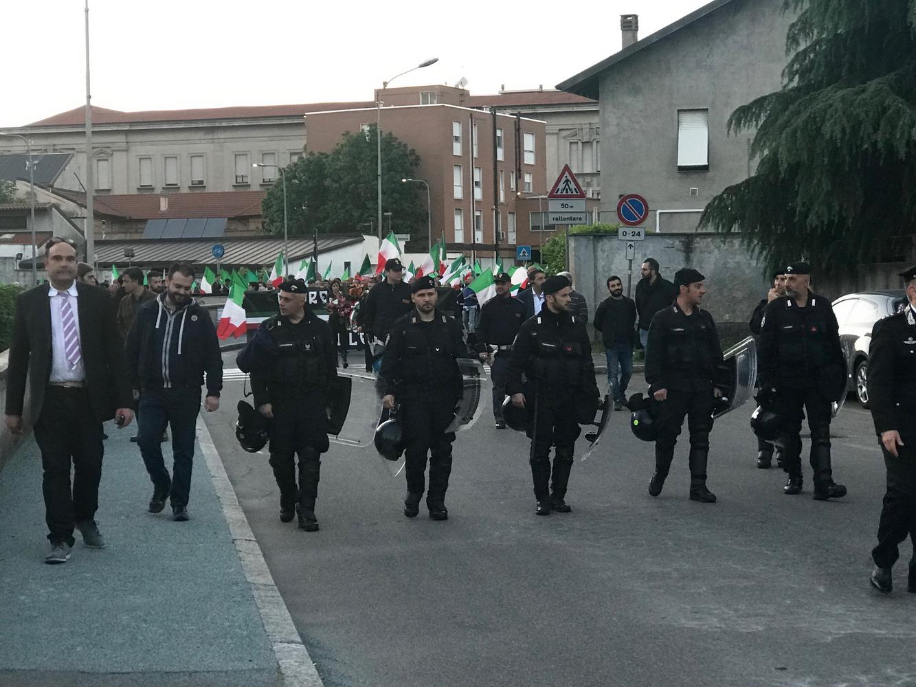 Manifestazione Carlo Borsani Legnano 03 - Sempione News