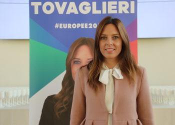 La candidata alle Europee della Lega,Isabella Tovaglieri