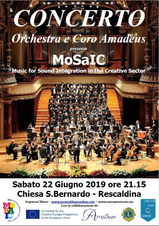 concerto e coro amadeus