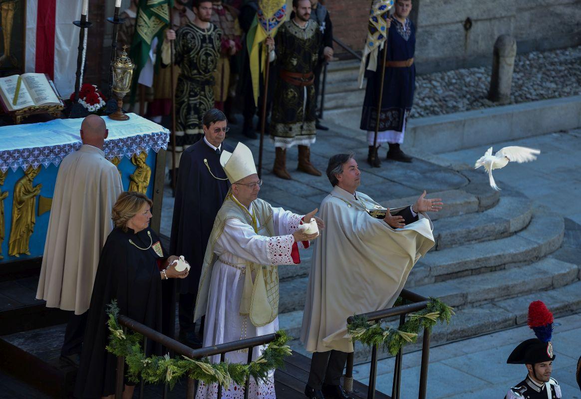 Foto messa carroccio- Sempione News - 1
