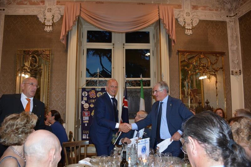 ministro Marco Bussetti al LC Giuseppe Maggiolini