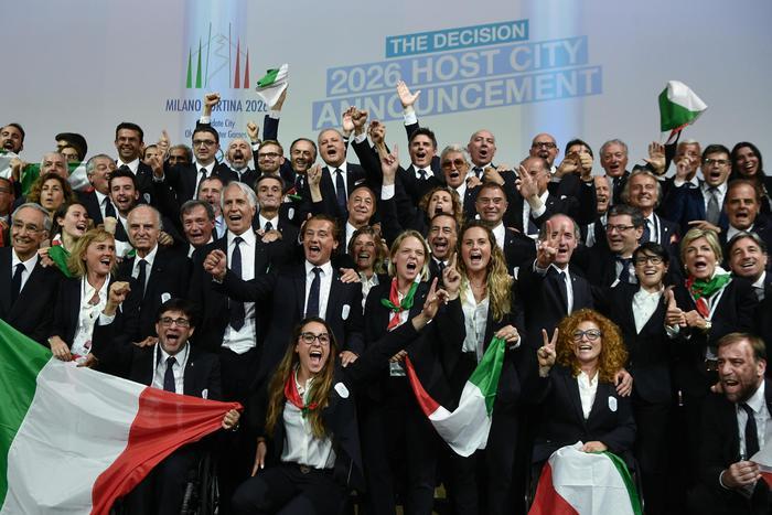 Olimpiadi Cortina Milano