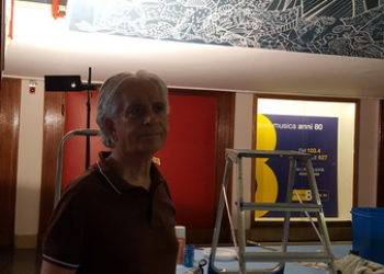 Pinnarò Restauro murales Teatro Galleria Legnano 9