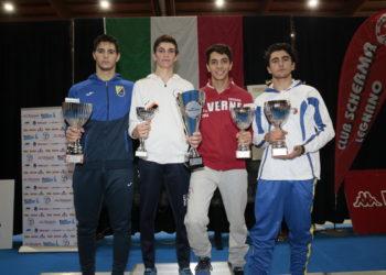 podio primo trofeo nazionale cadetti Legnano
