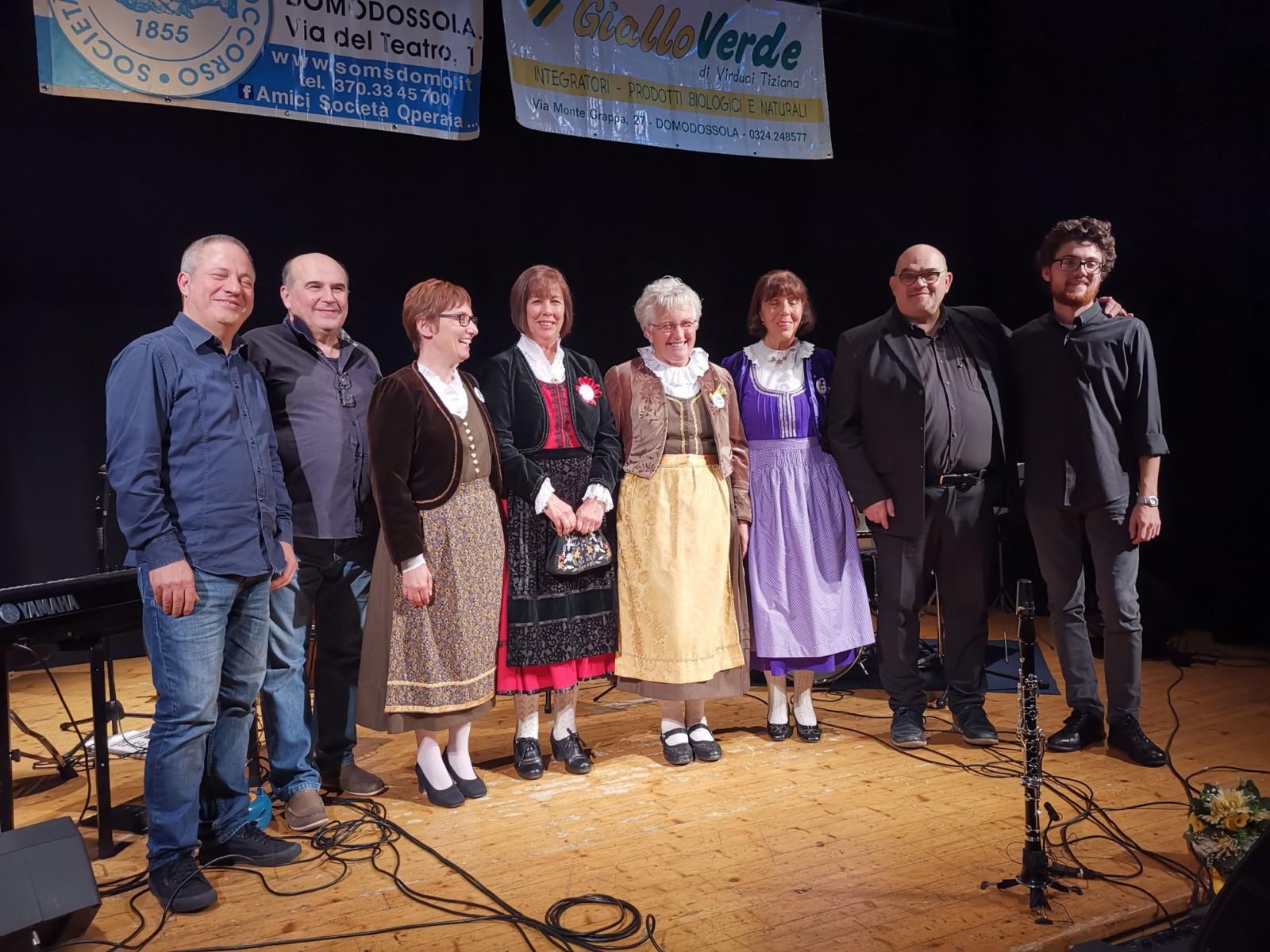 Simone Locarni Quartet e gruppo Folk