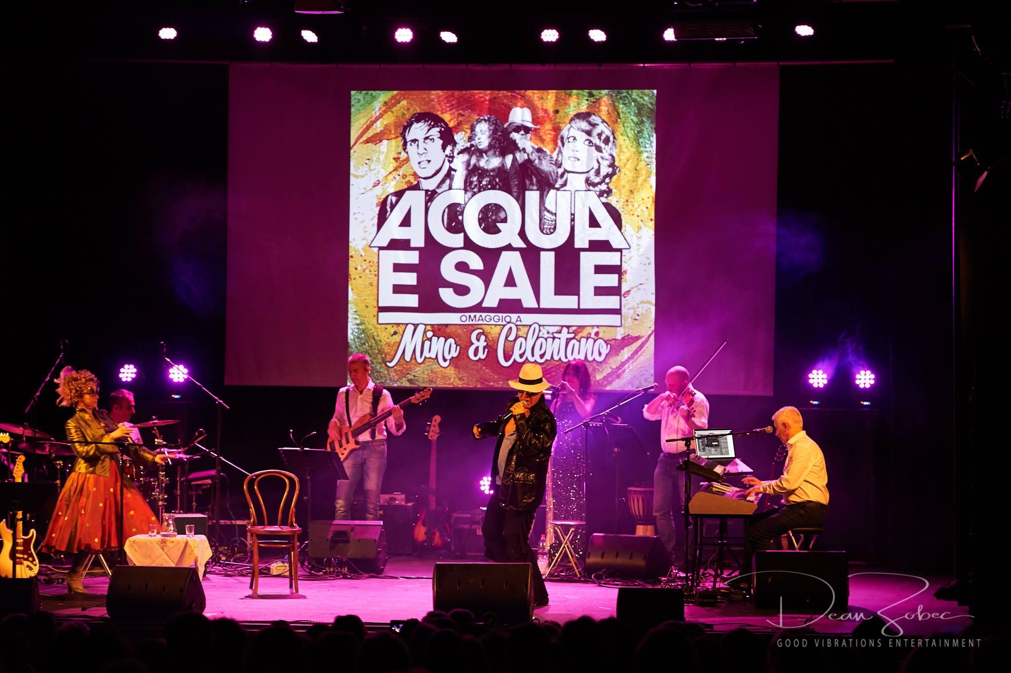 Acqua e Sale tribute show live